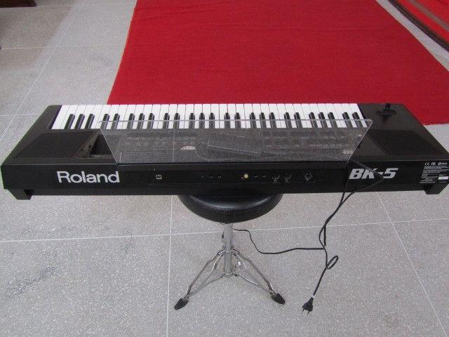 Bk5 Roland c/ritmos Brasil lindo parcelo cartão/ML faço brik Yamaha,Korg,Casio - Foto 2