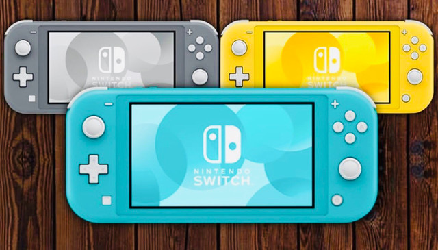 Nintendo Switch lite. Visite nossa loja!