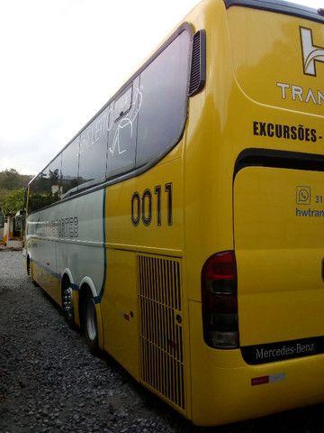 Ônibus Marcopolo Paradiso G6 1350 motor Mercedes O400 eletrônico 457 ano 2004 semi - leito - Foto 4
