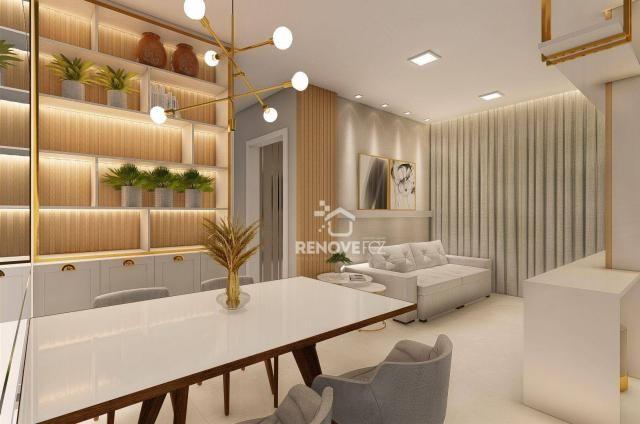 Apartamento com 2 dormitórios à venda, 64 m² - Centro - Foz do Iguaçu/PR - Foto 14