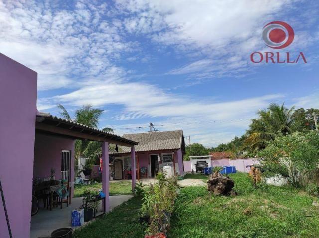 Orlla Imóveis - ?? Terreno com 2 casas em Itaipuaçu!