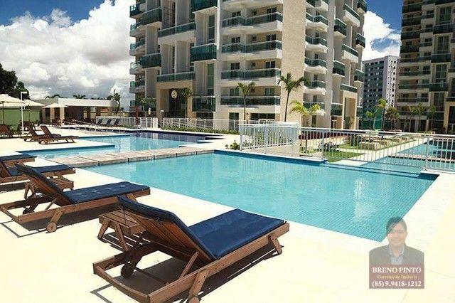 Apartamento com 3 dormitórios à venda, 82 m² por R$ 550.000,00 - Guararapes - Fortaleza/CE - Foto 4