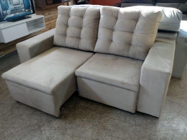 Sofa look retratil e reclinavel.! - Foto 4
