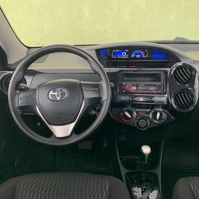 Toyota Etios Automático X 1.5 2018 Completo!!! - Foto 16