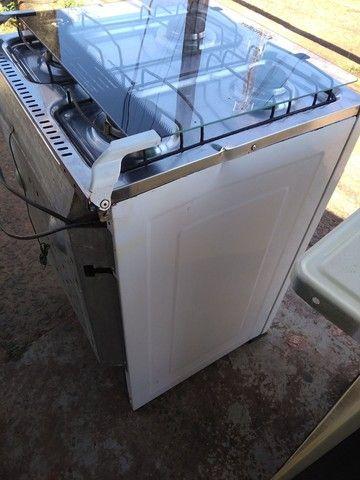 Fogão acendimento elétrico Esmaltec  - Foto 5