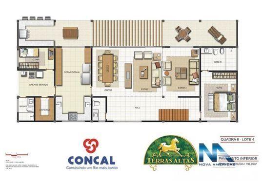 TERRAS ALTAS Terreno em Condomínio à venda em Petrópolis/RJ - Terreno com 5,451m². Sào 85  - Foto 13
