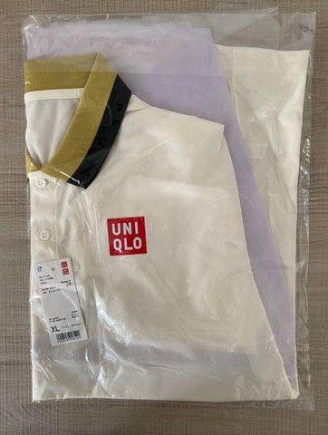 Uniqlo Camisa Polo de Tenis - Foto 3