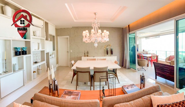 Apto com 251 m² na Península todo projetado e mobiliado - Foto 2