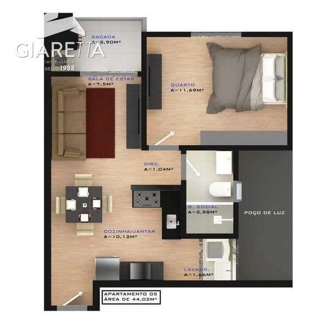 Apartamento à venda, JARDIM SANTA MARIA, TOLEDO - PR - Foto 5