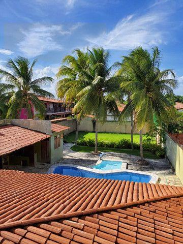 Casa com 5/4, piscina , campo de futebol na barra de São Miguel  - Foto 3
