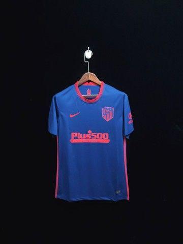 Camisa de time Atlético de Madrid Nike 21-22