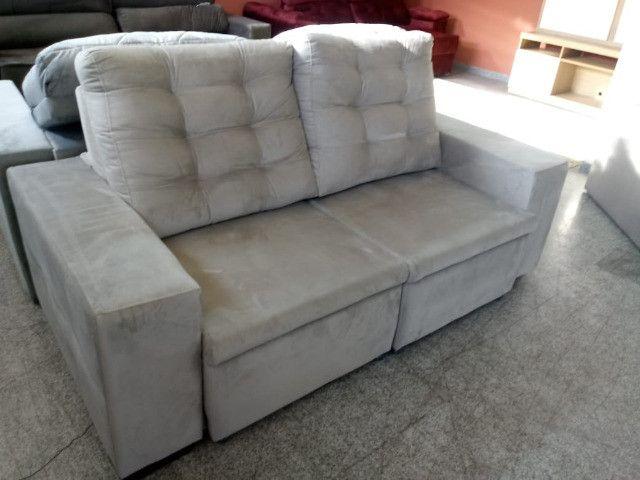 Sofa look retratil e reclinavel.!