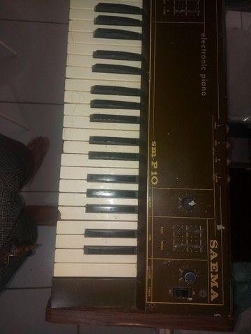 Piano Eletrônico Saema SM -P.10 - Foto 2