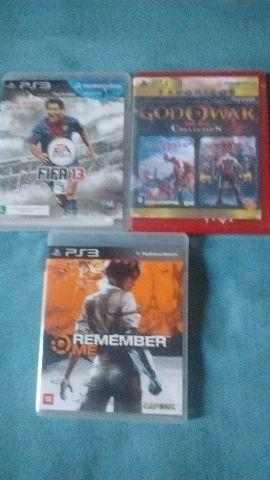 FIFA 13 / Remember me / God of War Collection