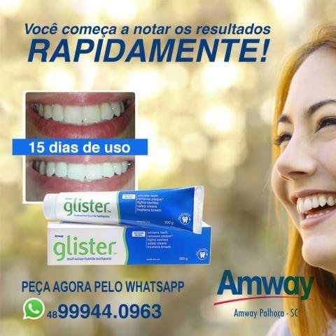 Creme Dental Clareador Glister Amway 200g De R 42 90 Por R 35 00