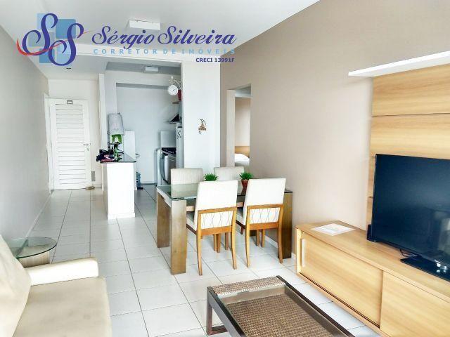 Apartamento no Porto das Dunas frente mar todo projetado Beach living
