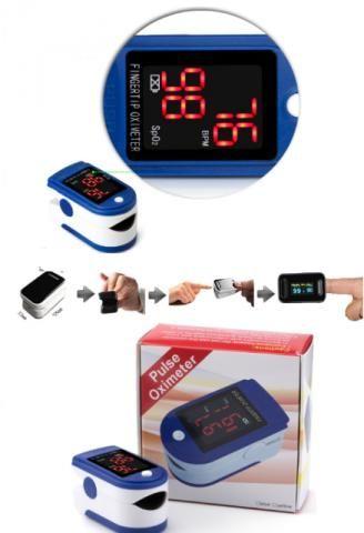 Monitor Pulse Oximeter Cardiaco De Ponta De Dedo