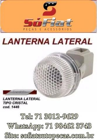 Lanterna Tipo Cristal Lateral carro para Fiat