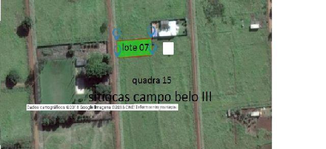 Excelente terreno Campo Belo III