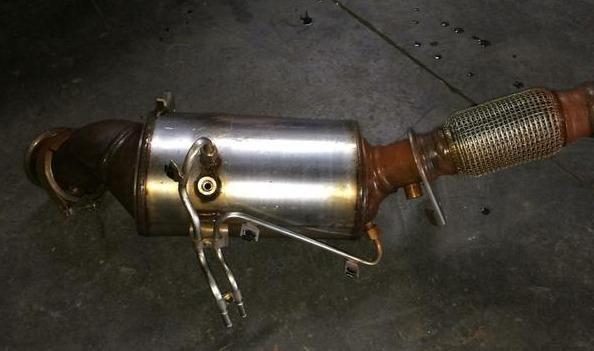 Catalisador da Amarok bi-turbo