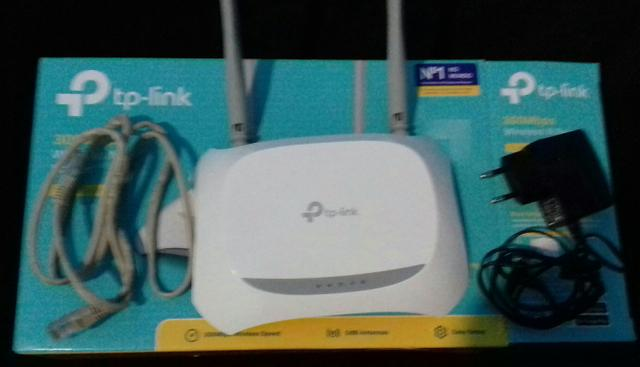 Roteador wi-fi 300 mbps tl-wr840N