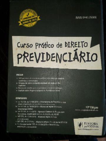 Curso prático de direito previdenciario
