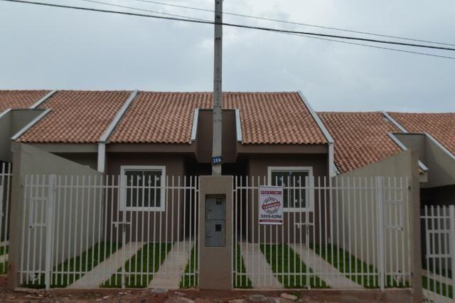 Casas 03 Quartos- Entrada Parcelada - Campo de Santana/Tatuquara - Imobiliaria Pazini