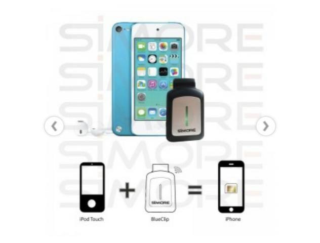 IPhone iPad iPod: tenha 2 SIM cards  Bluetooth Dual SIM Adapter