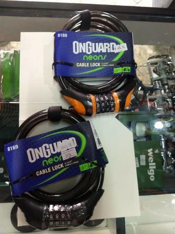 Cadeado Onguard Neons Cable Lock Codificado