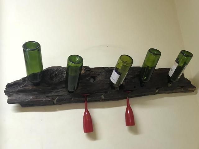 Garrafeiro, suporte de garrafas de madeira