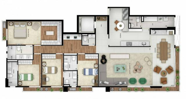 Opus Araguaya apartamento 3 Suítes no Marista - desconto imperdível - Foto 17
