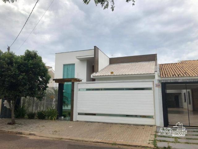Casa de alto padrão com 3 dormitórios à venda, 198 m² por R$ 600.000 - Residencial Atlânti - Foto 2