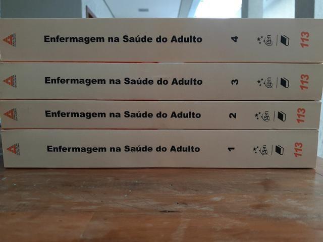 Livros de Enfermagem - Enfermagem na Saúde do Adulto - 4 Volumes - Foto 3