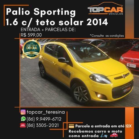 Fiat Palio Sporting 1.6 Interlagos 2014 com teto solar