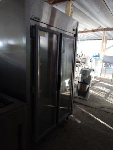 Geladeira 2 portas ar forçado temperatura de 0 a 10 graus - Foto 2