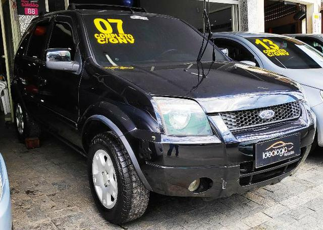 Ford Ecosport XLT 1.6 c/GNV 2007 Completo - Foto 2