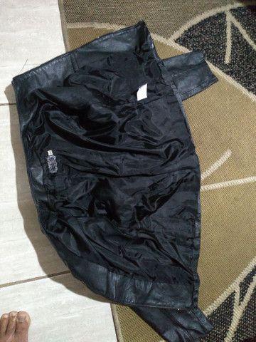 Jaqueta em couro legítimo Mercatto - Foto 4