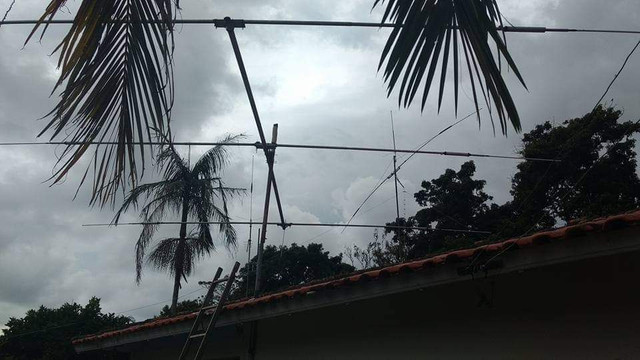 Antena direcional 3 elementos - Foto 2