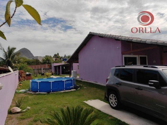 Orlla Imóveis - ?? Terreno com 2 casas em Itaipuaçu! - Foto 8