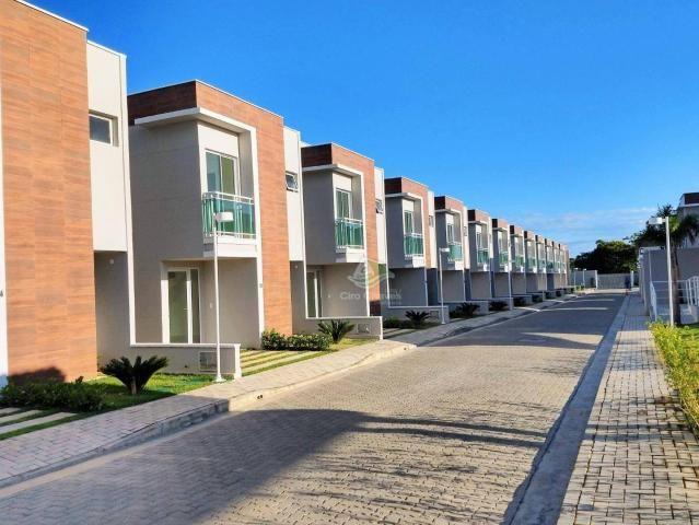 Sobrado à venda, 95 m² por R$ 350.000,00 - Mangabeira - Eusébio/CE - Foto 7