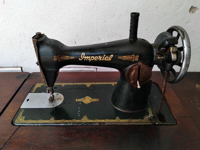 Máquina costura antiga Imperial