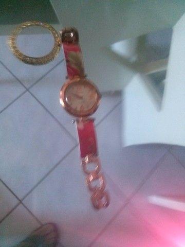 Relógio de pulso feminino e masculino - Foto 3