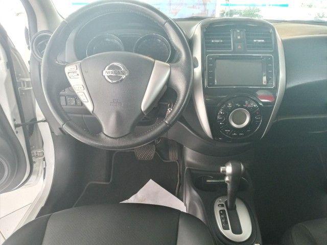Nissan Versa 1.6 Unique ano 2017 - Foto 7