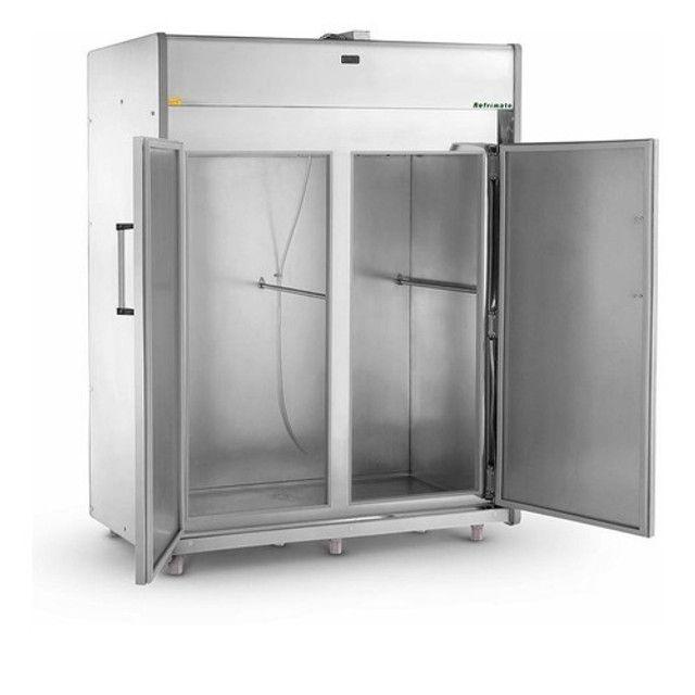 Geladeira de açougue Refrimate 600kg 2 portas Nova Frete Grátis - Foto 3