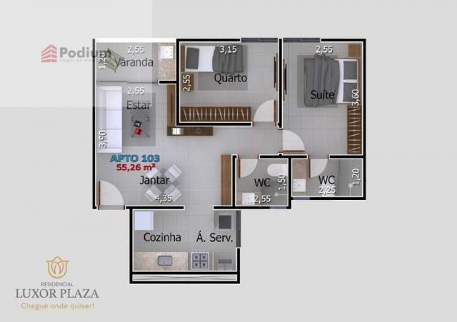 Apartamento à venda com 2 dormitórios em Portal do sol, João pessoa cod:37623 - Foto 12