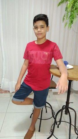 Camisas juvenil tamanhos 10,12 e 14 - Foto 3