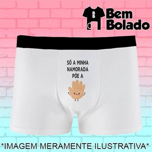 Presente dia dos Namorados cueca personalizada com frase - Foto 6