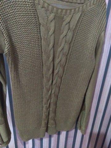Blusa tricô  - Foto 3
