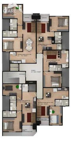 Apartamento com 2 dormitórios à venda,73.71 m², JARDIM SANTA MARIA, TOLEDO - PR - Foto 7
