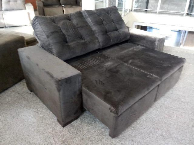 Sofa look retratil e reclinavel.! - Foto 2